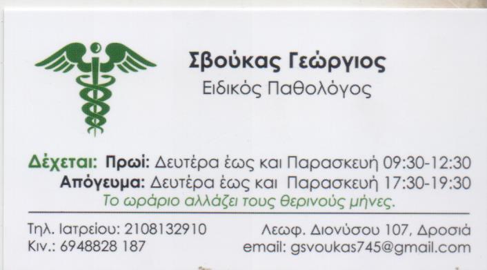 ΣΒΟΥΚΑΣ ΓΕΩΡΓΙΟΣ