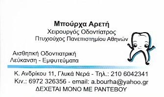 ΟΔΟΝΤΙΑΤΡΟΣ ΓΛΥΚΑ ΝΕΡΑ ΑΤΤΙΚΗ ΜΠΟΥΡΧΑ ΑΡΕΤΗ